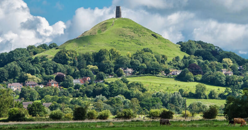 Withy Water Glastonbury Tor