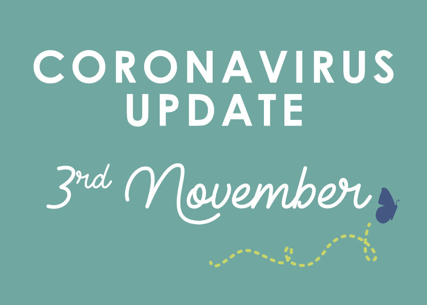 Withy Water Coronavirus Update Nov 3rd 2020
